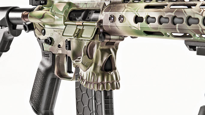 Sharps Bros .458 SOCOM Rifle test skull