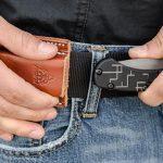 TOPS Knives Tac-Raze Friction Folding Knife belt
