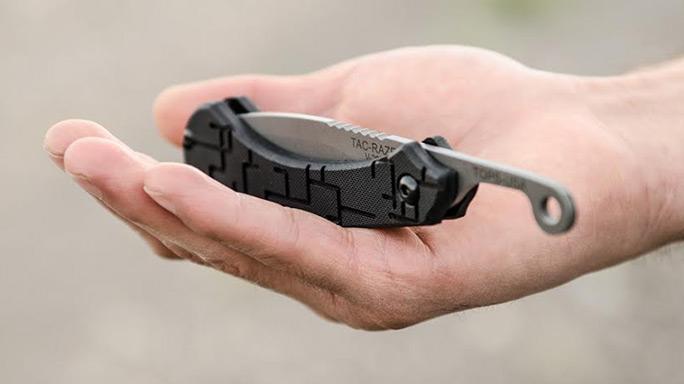 TOPS Knives Tac-Raze Friction Folding Knife closed