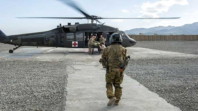 Wounded Soldiers Survival Rate Army 2016