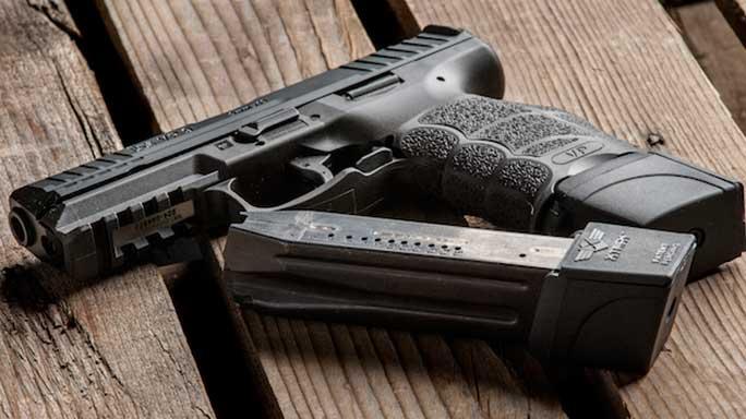 XTECH Tactical HK VP9 Pistol Magazine Extender lead