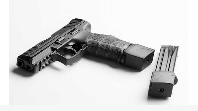 XTECH Tactical HK VP9 Pistol Magazine Extender solo