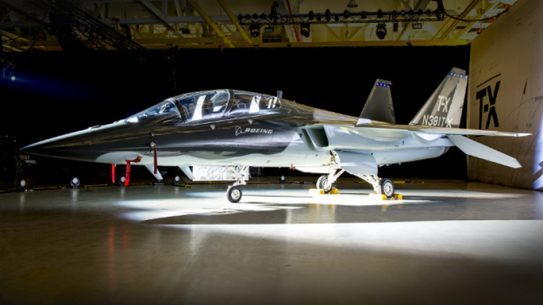 Boeing T-X Aircraft reveal