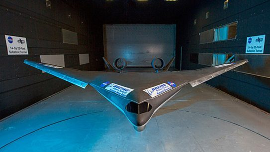 Boeing NASA Blended Wing Body Airplane