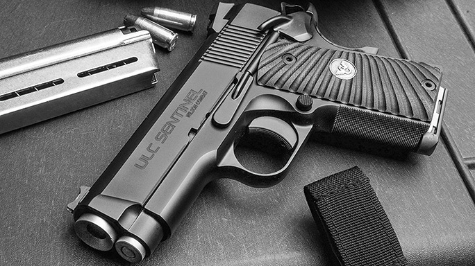 Compact 1911 Pistols Wilson Combat Ultralight Carry Sentinel