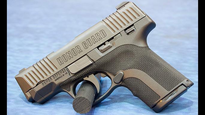 Cutting-Edge Handguns 2016 Honor Defense Honor Guard