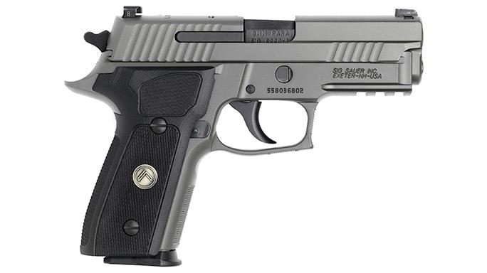 Cutting-Edge Handguns 2016 Sig Sauer Legion Series Pistols