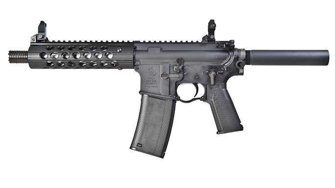 Cutting-Edge Handguns 2016 Troy P7A1 Pistol