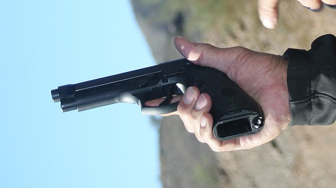 DA-SA Semi-Auto Pistol Massad Ayoob clip