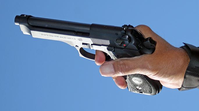 DA-SA Semi-Auto Pistol Massad Ayoob index