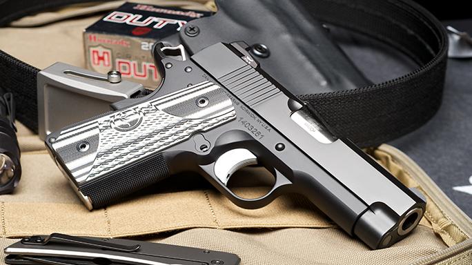 Dan Wesson ECO .45 ACP Elite Carry Officer Pistol lead