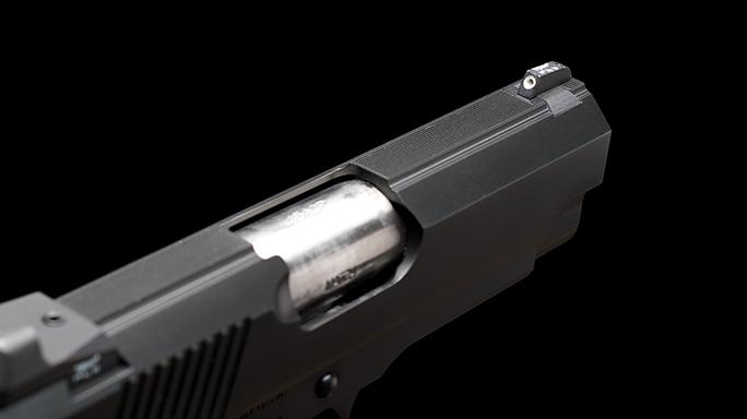 Dan Wesson ECO .45 ACP Elite Carry Officer Pistol port
