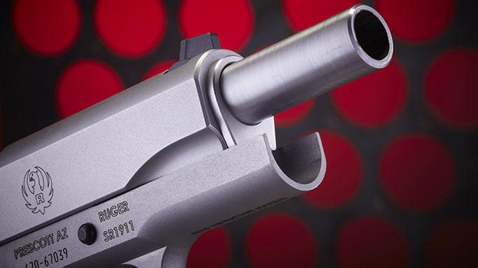 Ruger SR1911 .45 ACP Pistol Review barrel