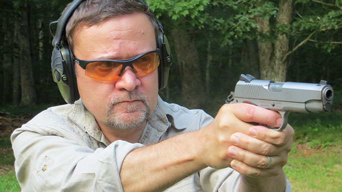 Ruger SR1911 .45 ACP Pistol Review field
