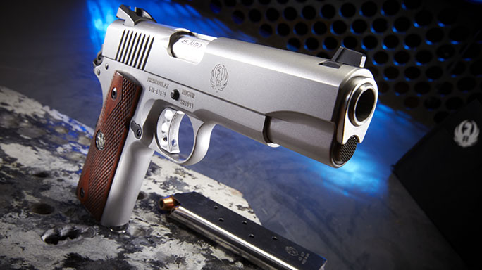 Ruger SR1911 .45 ACP Pistol Review lead