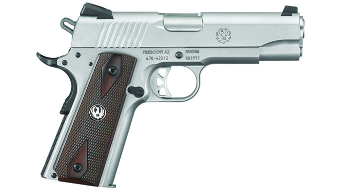 Ruger SR1911 .45 ACP Pistol Review solo