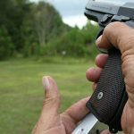 Tactical Reload Semi-Auto Pistol Step 4