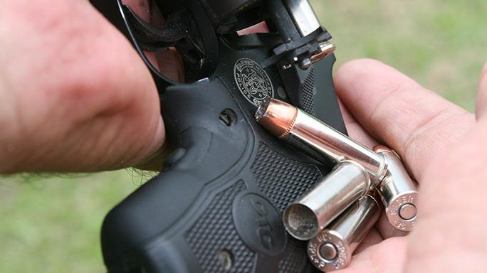 Tactical Reload Speedloader Revolver Step 2