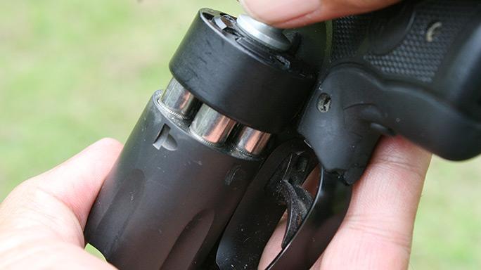 Tactical Reload Speedloader Revolver Step 4