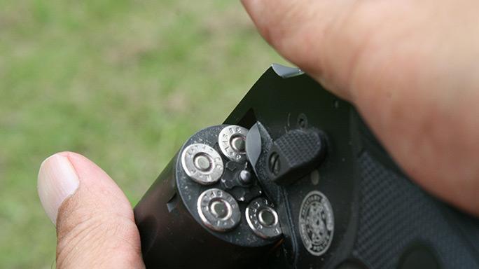 Tactical Reload Speedloader Revolver Step 6