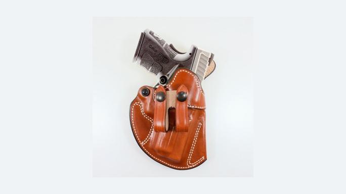 "DeSantis Holsters Fits Springfield Armory XDM .45 3.8"" Pistol Cozy Partner"
