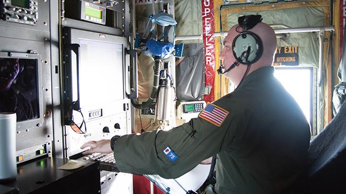 U.S. Air Force Hurricane Hunters Hurricane Hermine