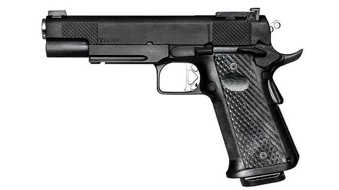 10mm, 10mm auto, 10mm pistol, 10mm pistols, Dan Wesson Elite Series Titan