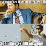 Gun Memes Wolf of Wall Street