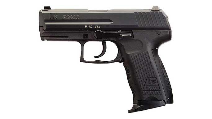 semi-auto pistol, semi-auto pistols, semi auto pistol, semi auto pistols, pistol, pistols, autoloading pistol, autoloder pistol, HECKLER & KOCH P2000/P2000SK