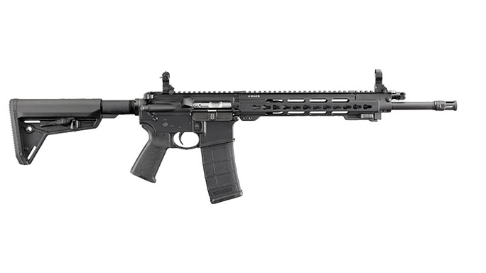 rifle, rifles, semi-auto rifle, semi-auto rifles, RUGER AR-556/SR-556 TAKEDOWN