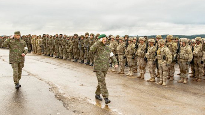 slovak shield, slovak shield 2016, army, us army, u.s. army, nato, slovak shield training, slovak shield training exercise, gun training