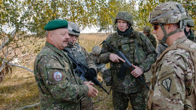 slovak shield, slovak shield 2016, army, us army, u.s. army, nato, slovak shield training, slovak shield training exercise, gun training, nato training