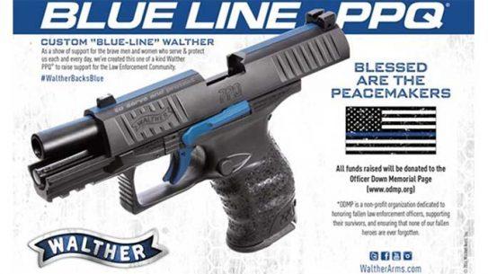 walther, walther blue line, blue line, blue line ppq
