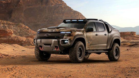 Colorado ZH2 Fuel Cell Vehicle General Motors lead