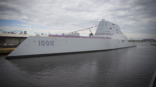 USS Zumwalt, U.S. Navy commissioned Baltimore