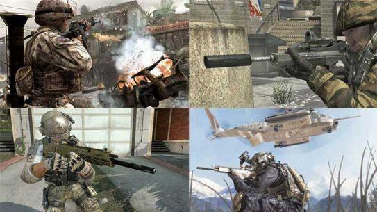 call of duty guns