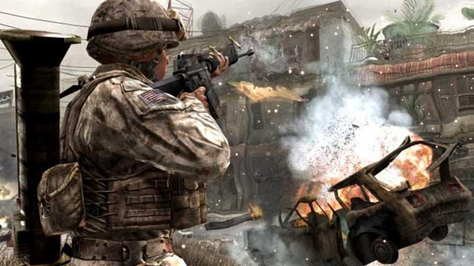 call of duty guns M16A4