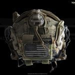 Mohawk Mk2 helmet accessory