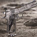 Cabot Gun's Big Bang Pistol Set on display