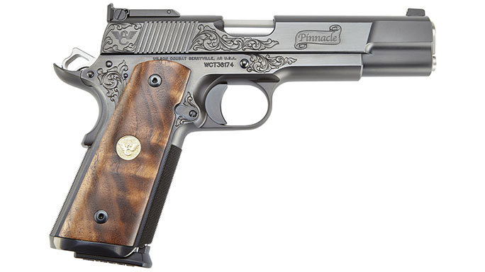 The Wilson Combat Pinnacle 1911 is a piece of artwork