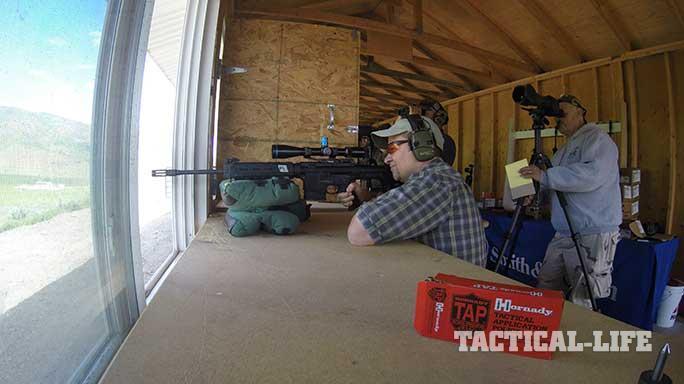 long distance shooting tactics