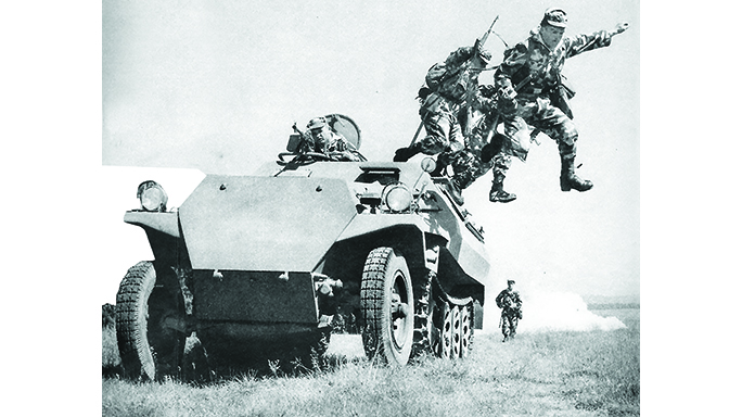 soldiers using UK vz. 59