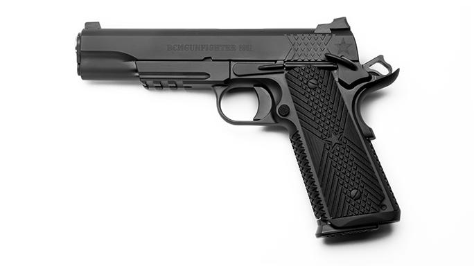 Wilson/Bravo BCMGUNFIGHTER 1911 full-size pistol