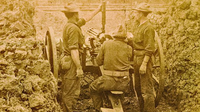 Gatling Gun history