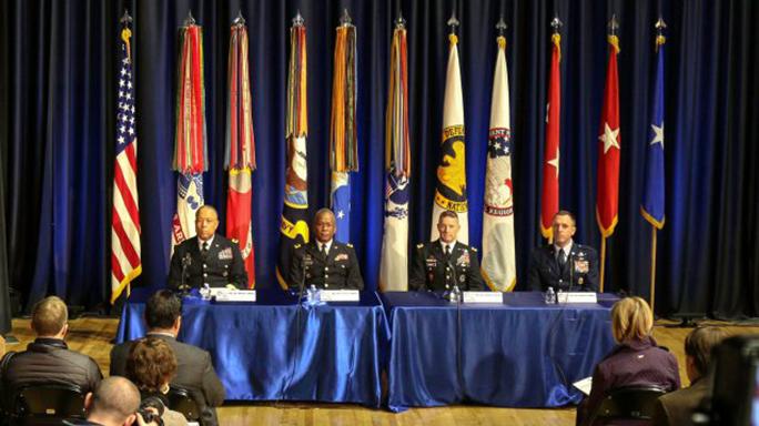 inauguration day 2017 military