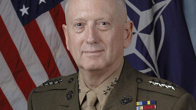 james mattis secretary of defense