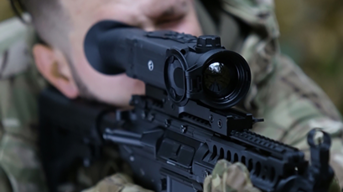 the new pulsar trail thermal riflescope
