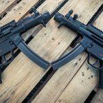 Heckler & Koch SP5K semi-automatic pistol lead