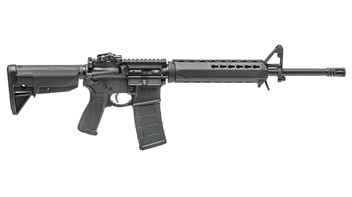Springfield Armory Saint rifle right view