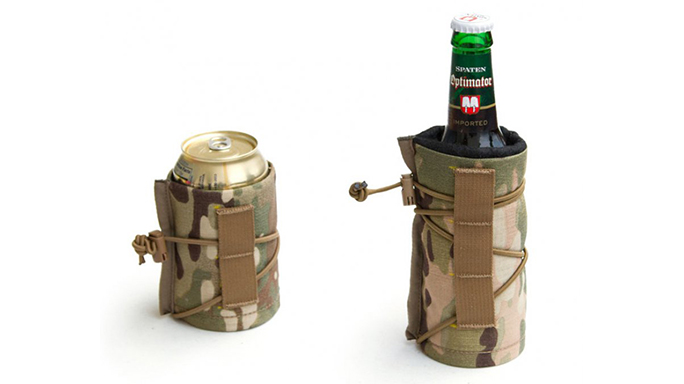 Armageddon Gear's Beer Bivy is available for 12-ounce bottles or cans